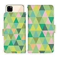 iPhone 6s スライド式 手帳型 スマホケース スマホカバー dslide728(E) 幾何学 カラフル モザイク 三角 ナチュラル アイフォン6s アイフォンシックスs スマートフォン スマートホン 携帯 ケース アイホン6s アイホンシックスs 手帳 ダイアリー フリップ スマフォ カバー