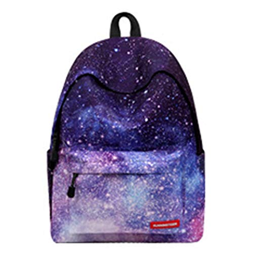 YZYZYZ Travel backpack Air Cushion Strap Student Business Travel Polyester Star Pattern Bag, Suitable For College Students, 14-inch Computer Interlayer, Men And Women Breathable Shoulder Bag
