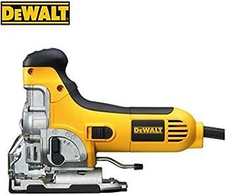 Dewalt DW333K-QS - Sierra de calar 701w electrónica con puño abierto + maletín