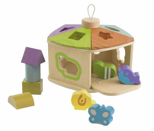 Chicco Tierhäuschen Holzspielzeug