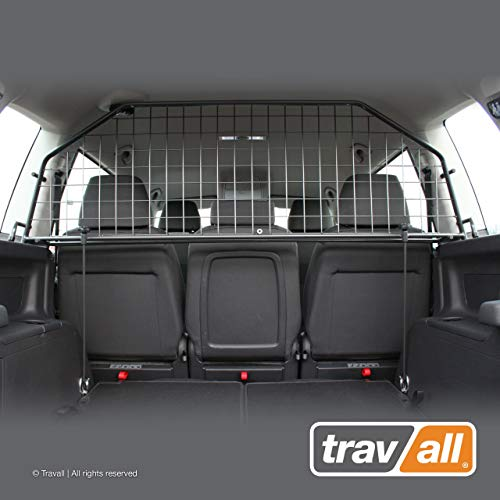 Travall Guard Hundegitter Kompatibel Mit Volkswagen Touran (2003-2015) TDG1297 - Maßgeschneidertes Trenngitter in Original Qualität