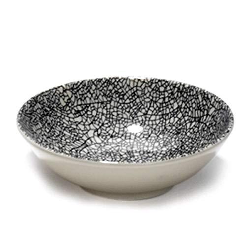 Lambert - Kaori - Schale, Schüssel, Salatschale, Dessertschale - Steingut - mit edler Krakelee Glasur - 1 Stück - Ø: 14 cm