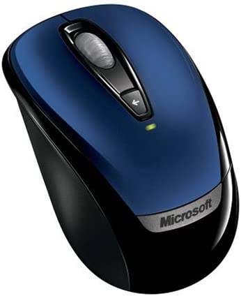 Microsoft Wireless Mobile Mouse 3000 - Blue