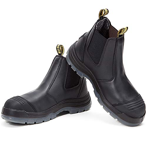 ROCKROOSTER Work Boots for Men, Composite/Soft/Steel...