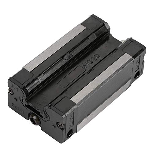 ZGQA-GQA Bloque lineal de diapositivas y estable rendimiento de alta 2pcs precisos Rail 20mm Bloque de 4 puntos de contacto carro deslizante de carril de guía CNC Sustituir Accesorios en automático Eq