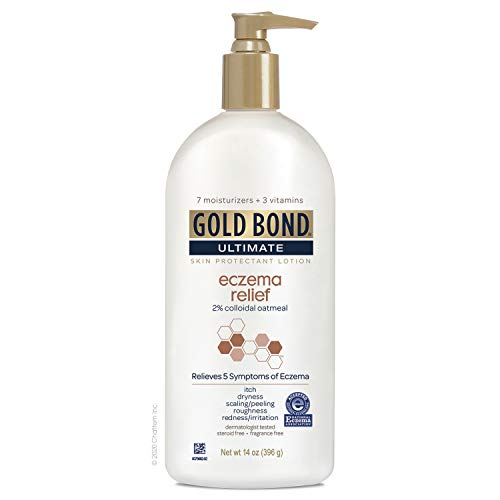 Gold Bond Eczema Relief, Fragrance Free, 14 Ounce