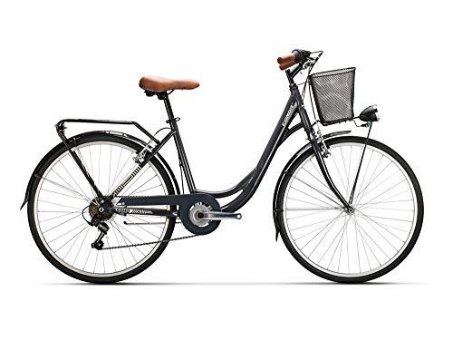 Conor Soho AL 6V WL Bicicleta, Adultos Unisex, Gris (Gris), Talla Única