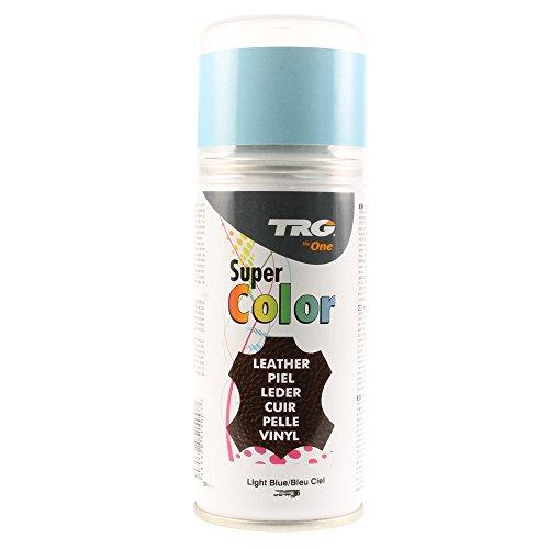 TRG Super Spray Leder Lederfarbspray Lederfarbe (#334 HellBlau / 36-150 ml - 3.77 oz.)