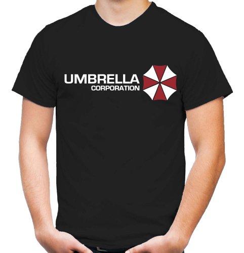 Umbrella Corporation T-Shirt   Resident Evil   Raccon City   Zombie   Horror   Herren   Männer   Sci-Fi-Action   T-Virus   Fun   Kult (S)