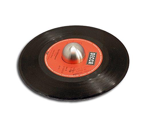 Single Schallplatten Puck halbrund Protected