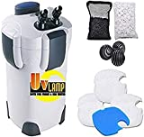 SunSun Hw303B 370GPH Pro Canister Filter Kit with...