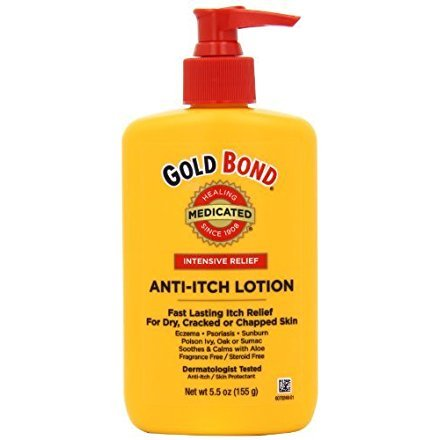Best gold bond itch lotion