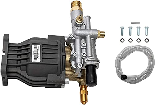 Product Image of the OEM Technologies 90029 Replacement Pressure Washer Pump Kit, 3400 PSI, 2.5 GPM, 3/4' Shaft, Includes Hardware and Siphon Tube, for Residential and Industrial Gas Powered Machines