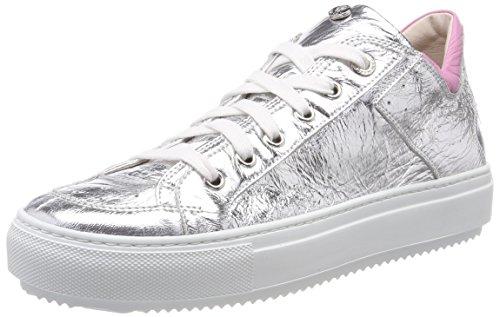 Marc Cain Damen KB SH.21 L40 Sneaker, Grau (Silver), 40 EU