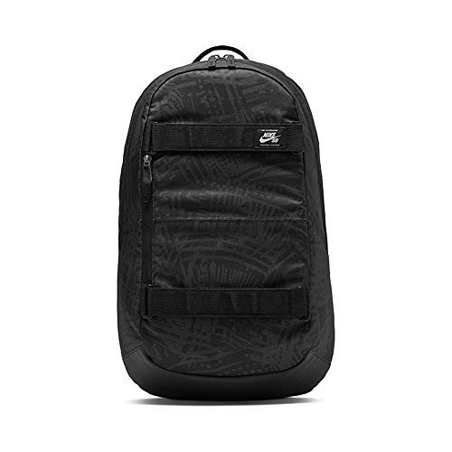 NIKE Nk SB Crths Bkpk-AOP Fa20 Sports Backpack, Hombre, Black/Black/(White), MISC