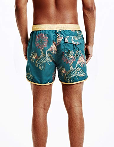 MaaMgic Bañador Hombre de Natación Secado Rápido Interior de Malla Pantalones Cortos d
