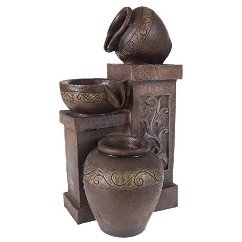 Pure Garden 50-203 Tabletop Water Fountain