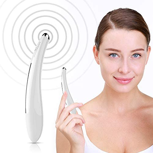 TOUCHBeauty Sonic Eye Massager Wand with 104 F Heated Sonic Vibration Massage for Eyes Dark product image