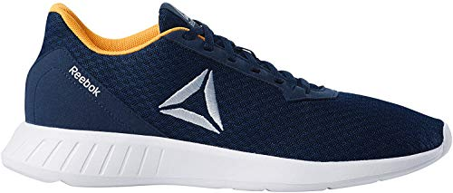 Reebok Lite, Zapatillas de Trail Running para Hombre, Multicolor (Collegiate Navy/White/Solar Gold/Matte Colores 000), 44 EU