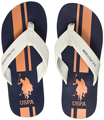 US Polo Men Nacho Navy Flip Flops Thong Sandals-6 UK/India...