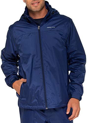 Arctix Men's Storm Rain Jacket, Ink, Large