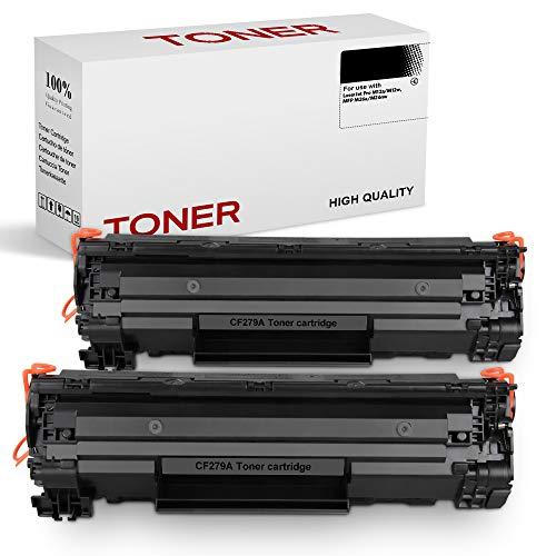 SMARTOMI CF279A 79A Compatibles con HP CF279 79A Cartucho Toner Para LaserJet Pro M12 M12a M12w MFP M26 M26a M26nw Series 2 Negro