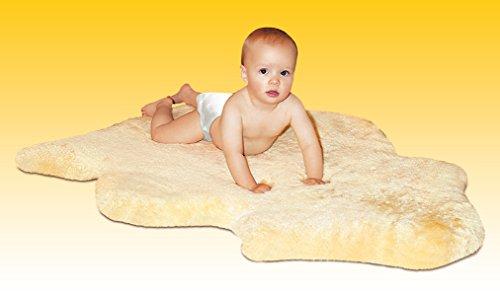 HEITMANN Baby Lammfell gold-beige geschoren 80-90 cm