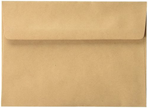 Darice 107167 5 x 7 Blank Cards & Envelopes - Value Pack - 50 Count - Natural