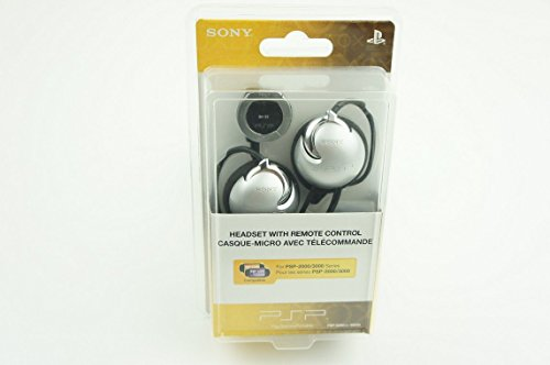 PSP Headset with Remote