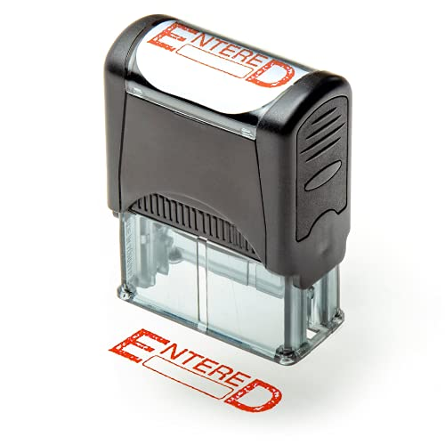 Self Inking Rubber Stamp, Refill...