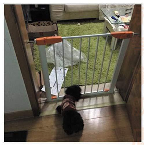 libby-nice Treppenschutzgitter Kein Gestanztes Haustier Faltschutz-tür Garant Garant Baby-Flur Treppe Balkon Katze Hund Isolation Door Bar nett