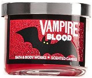 Bath & Body Works Mini Candle Halloween Vampire Blood Plum