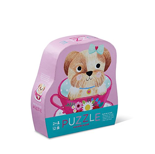 Crocodile Creek Puppy in een kopje - Puzzle (12 piezas) (Juguete)