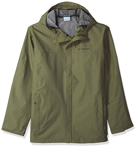 Columbia Herren Big and Tall Diablo Creek Rain Shell Regenjacke, Mosstone, 2X Hoch