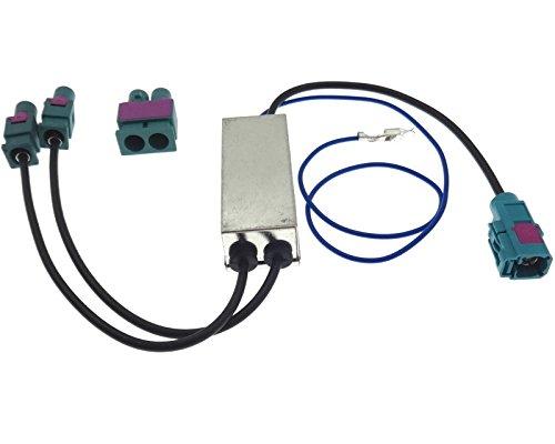 Adaptateur d'antenne double adaptateur d'antenne 2 X Fakra Diversity Alimentation fantôme