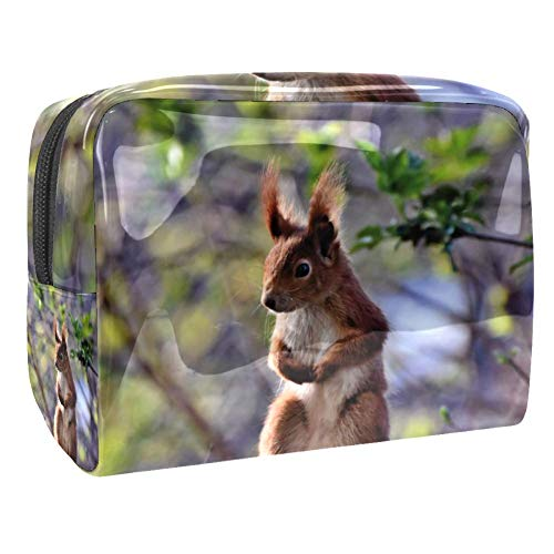 Maquillage Cosmetic Case Multifunction Travel Toiletry Storage Bag Organizer for Women - Squirrel Cute