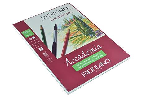 Fabriano 41202129 Zeichenblock, Baumwolle, weiß, 21 x 29.7 x 0.5 cm