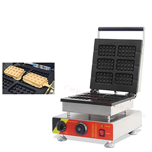 Review LANTAO Stainless steel commercial rectangle electric waffle maker waffle stick maker Electric...