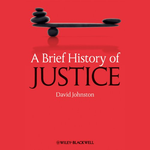 A Brief History of Justice audiobook cover art