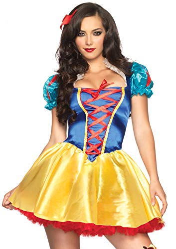 Leg Avenue 85516 - Fairytale Snow White Kostuum XS (EUR 32-34) multicolor