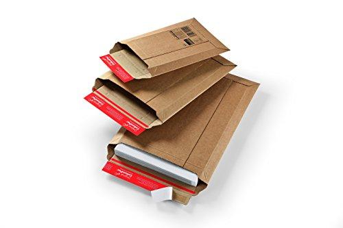 Versandtasche aus Wellpappe Karton mit...