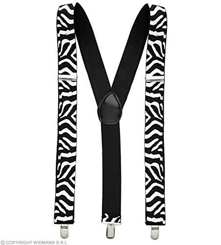 Widmann Black - White Zebra Braces