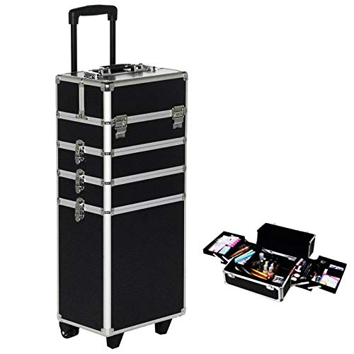 Trolley 3 Valigetta Make Up Beauty Case Nail Art Valigia Porta Trucco Viaggio Cofanetto cosmetica makeup