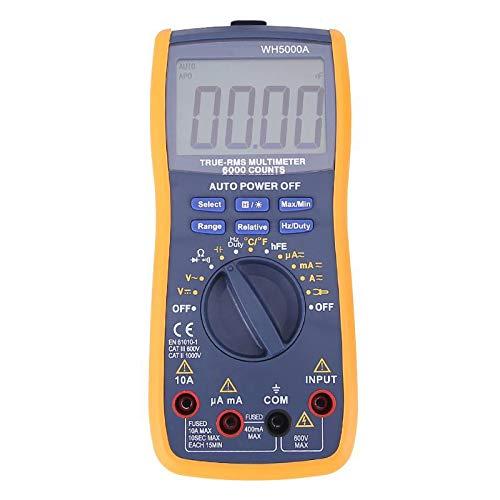 Monland Wh5000A Magnet Digital Multimeter 5999 Z?hlt Auto Range Mit Hintergrund Beleuchtung Magnet Fall Ac Dc Amperemeter Voltmeter Ohm Tester Meter