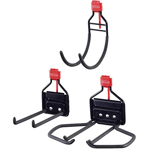 Rubbermaid 3 Pack Utility Shed Hook Kit