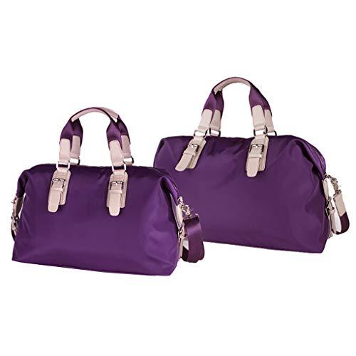 BAOBAOS grote capaciteit korte afstand reistas vrouwelijke handbagage tas licht en eenvoudig kan worden gedragen op het vliegtuig anti-diefstal