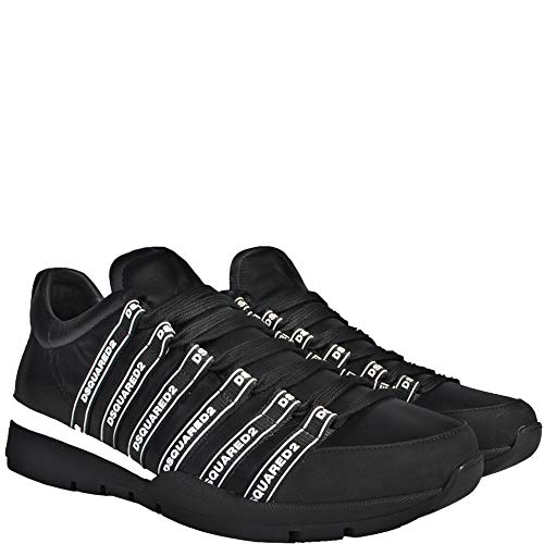 Dsquared2 Sneakers Basse con Logo Dsquared con Lacci 6 Black
