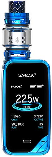 Authentische SMOK X PRIV Kit 225W TFV12 Prinz 8mL Tank E Zigarette Starter Kit (Prism Blue)