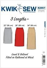 Kwik Sew K2957OSZ K2957 Skirts Sewing Pattern, Size XS-S-M-L-XL