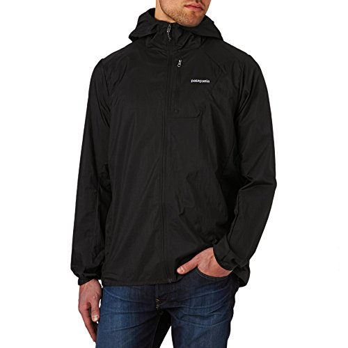Patagonia Men's Houdini Jacket Black Outerwear MD